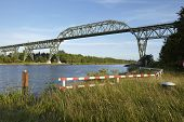 Hochdonn - Railroad Bridge Over The Kiel Canal