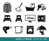 Hotel & Travel icons set // 01