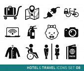 Hotel & Travel icons set // 08