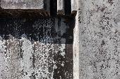 Grey Concrete Blocks Surface