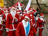 Unidentified Santa's