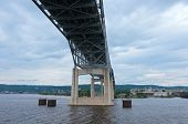 Bridge Spanning Saint Louis Bay In Duluth