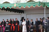 Papst Benedikt Xvi und Präsident Cavaco silva
