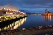 picture of inlet  - The Vancouver Trade and Convention Center also known as  - JPG