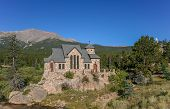 St. Malo's Chapel In Allenspark Near Rocky Mountains National Park