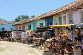 Typical Souvenir Street Market