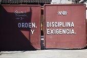Oden, Disciplina y Exigencia