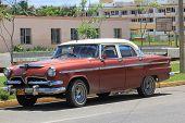 Old Fashioned cuban Car