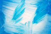 Abstract brush strokes Art Background