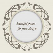 Beautiful Frame For Your Design