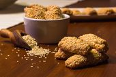Biscuit With Sesame