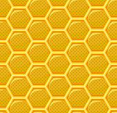 Honeycomb Seamless Pattern Repeat