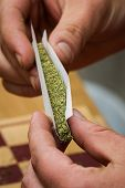 Rolling A Joint