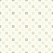 Cute retro abstract floral seamless pattern. Vector illustration