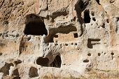 Ancient Ruins In Bandelier National Monument