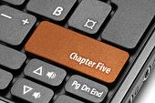 Chapter Five. Orange Hot Key On Computer Keyboard