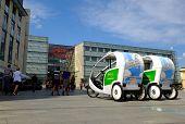 Rickshaws in Krakow