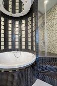 Big Round Bath
