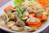 Fried Mushroom In Oyster Sauce