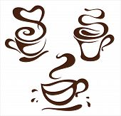 Coffee Cup design elements