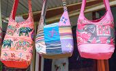 Ethnic bags in Indian market