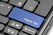 Chapter Two. Blue Hot Key On Computer Keyboard
