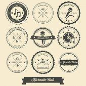 Karaoke Vintage Label