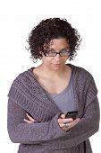 Beautiful Girl Texting