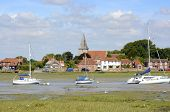 pic of west village  - Village of Bosham in Chichester Harbour - JPG