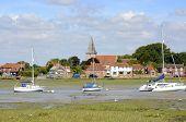 stock photo of west village  - Village of Bosham in Chichester Harbour - JPG