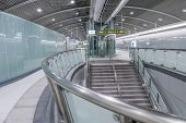 TAIPEI - NOVEMBER 27th : New open Songshan MRT station on November 27th, 2014 in Taipei, Taiwan.