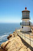 Lighthouse Point Reyes, California.