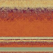 Aged grunge texture. With different color patterns: yellow; orange; brown; gray