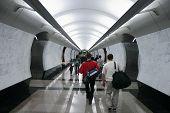 CROWD subway
