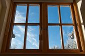 View Through A Window.