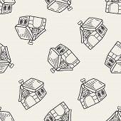foto of dog-house  - Doodle Dog House - JPG