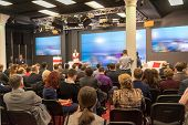 picture of audience  - Business Conference and Presentation - JPG