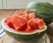 image of watermelon slices  - Sliced  - JPG
