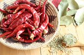 image of bay leaf  - Dried herb and spice  - JPG