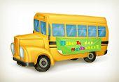 stock photo of driving school  - Yellow school bus - JPG