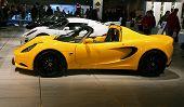 Lotus Elan At Paris Motor Show
