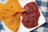 Nachos With Spicy Sauce poster