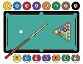 Billiards Table And Equipment
