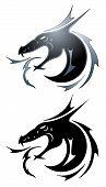 Black Dragon Tatoo