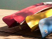 Four Canoe Bottoms