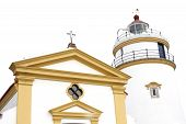 This Lighthouse Is The Oldest In South China Coast. It Is Located At Fort Guia, The Highest Point On
