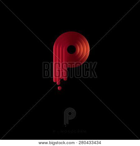 P Letter Logo P Monogram