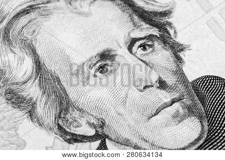 Close Up View Portrait Of