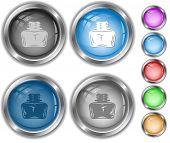 Inkstand. Raster internet buttons. Vector version is in portfolio.