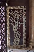 An entrance  in Church of all people in Gethsemane Garden in Jerusalem